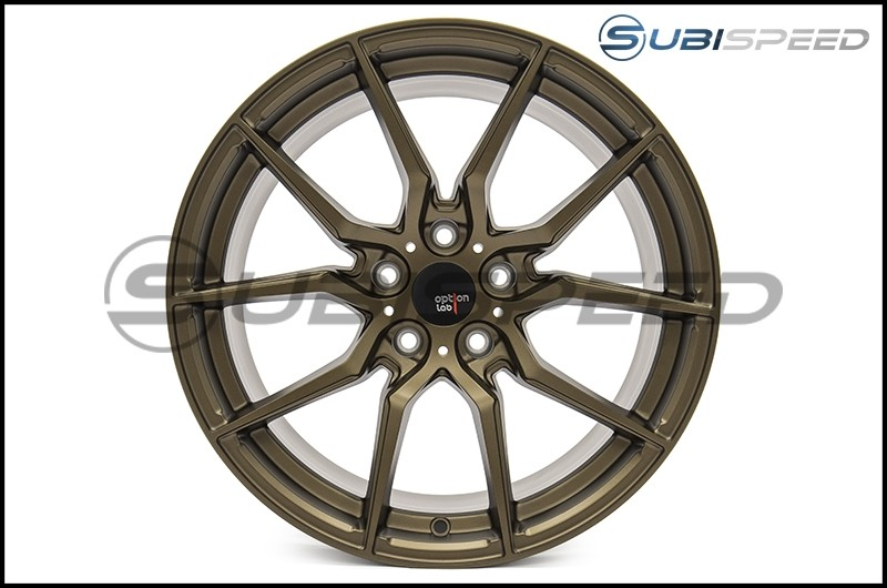 Option Lab R716 18x9.5 +35 Formula Bronze