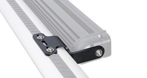 Rhino-Rack Vortex and Heavy Duty Crossbar LED Light Bar Brackets - Universal