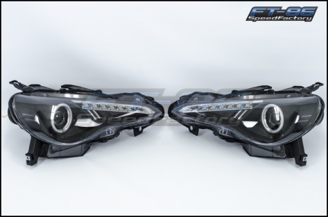 Spyder LED Headlight with Halo