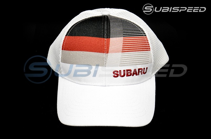 Subaru Orange Star Patch Trucker Cap- Universal