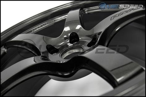 Rays Gram Lights 57CR Glass Black 18x9.5 +38 - 2013+ FR-S / BRZ / 86 / 2014+ Forester