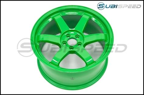 Volk TE37SL Takata Green 18x9.5 +40 - 2013+ FR-S / BRZ / 86