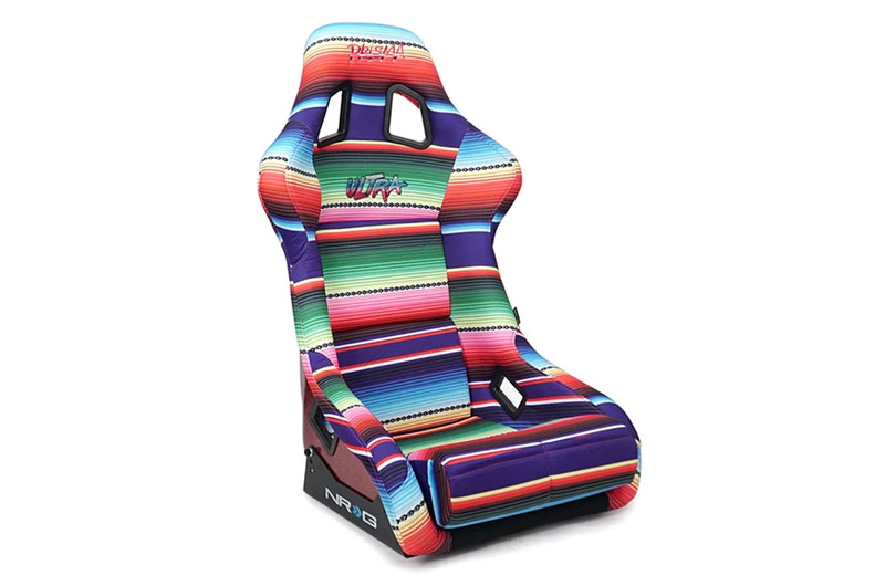 NRG Innovations FRP PRISMA MexiCali Edition Bucket Seat (Large)