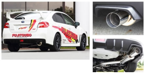 Fujitsubo Authorize RM Cat Back Exhaust - 2013+ FR-S / BRZ /86