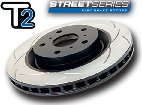 DBA Front / Rear Slotted T2 Rotors : All 4 Rotors (DBA650S/DBA2663S-10)