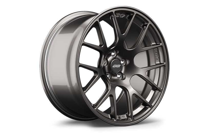 Apex Race Parts 17x9 +42 EC-7R Forged Anthracite - 2013+ FR-S / BRZ / 86