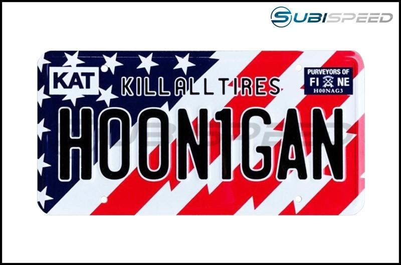 HOONIGAN Stars and Bars License Plate