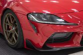 OLM LE Carbon Fiber Front Fog Lamp Covers - 2020+ Toyota A90 Supra
