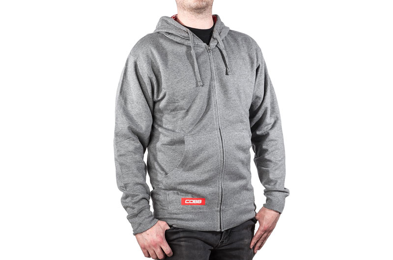COBB Grey Zip Hoodie