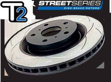 DBA Slotted T2 Rotors