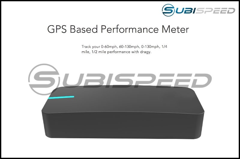 Dragy GPS Based Performance Meter (0-60, 1/4 mile and more)
