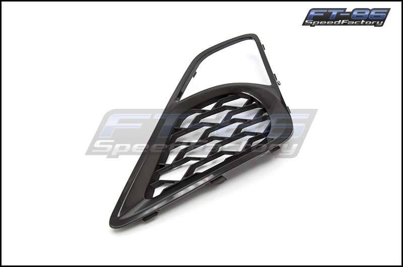OEM+ Style Fog Light Bezel with Functional Vents