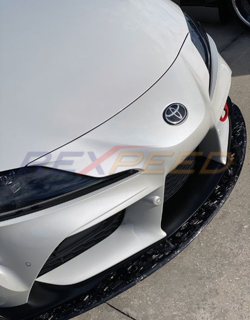 Rexpeed V2 Forged Carbon Front Splitter