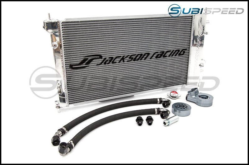 Jackson Racing Dual Radiator / Oil Cooler V2