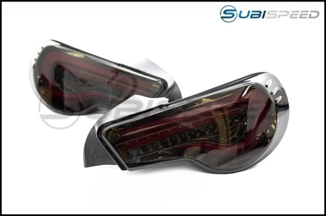 OLM VL Style Sequential Smoked Lens Tail Lights (BGR) - 2013+ FR-S / BRZ