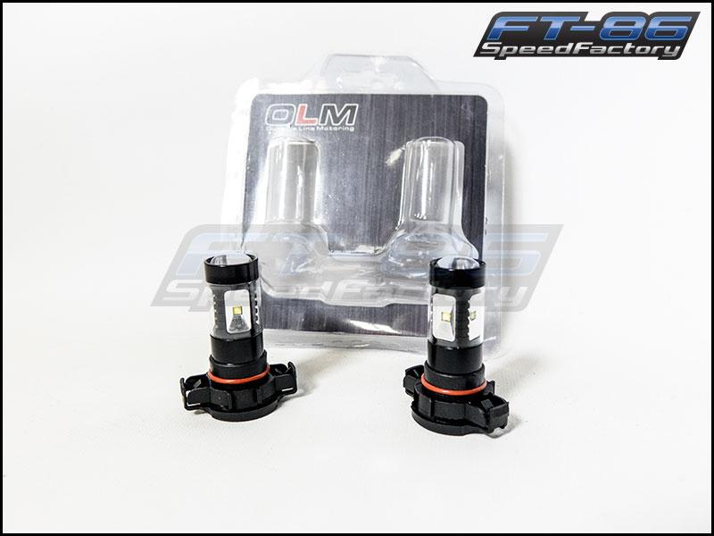 OLM Ultra White LED Bulbs - PSX24W