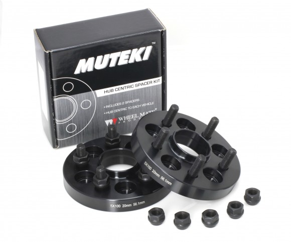 Muteki Bolt On Spacers 5x100 20mm