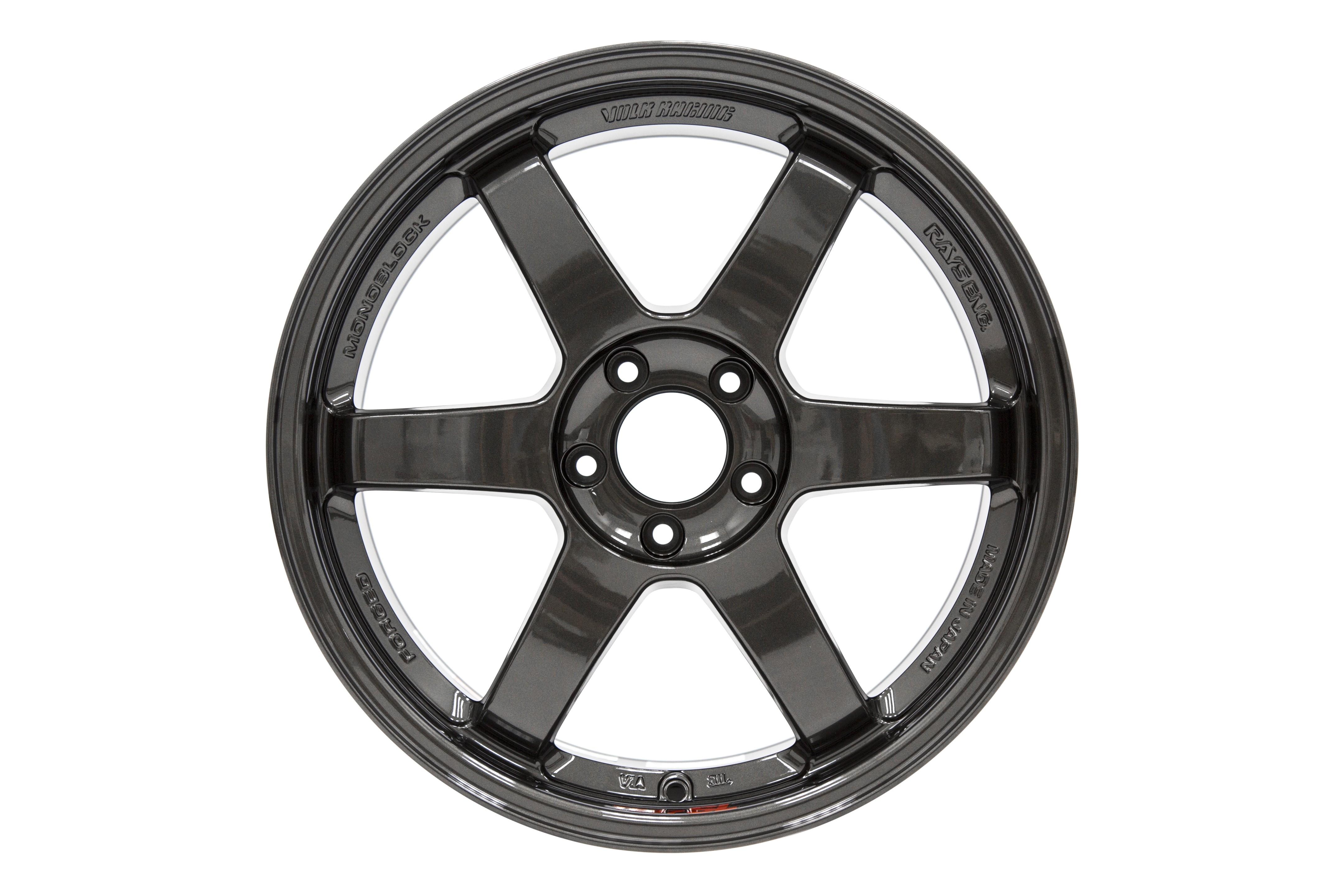 Volk TE37SL Diamond Black 19x9.5 +22 (Front) 19x10.5 +35 (Rear) - 2020+ A90 Supra