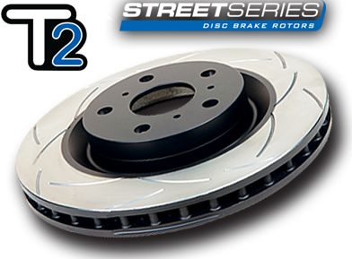 DBA Front / Rear Slotted T2 Rotors : All 4 Rotors (DBA650S/DBA2663S-10)