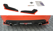 Maxton Design V2 Redline Gloss Black Rear Side Splitters - 2017+ BRZ / 86