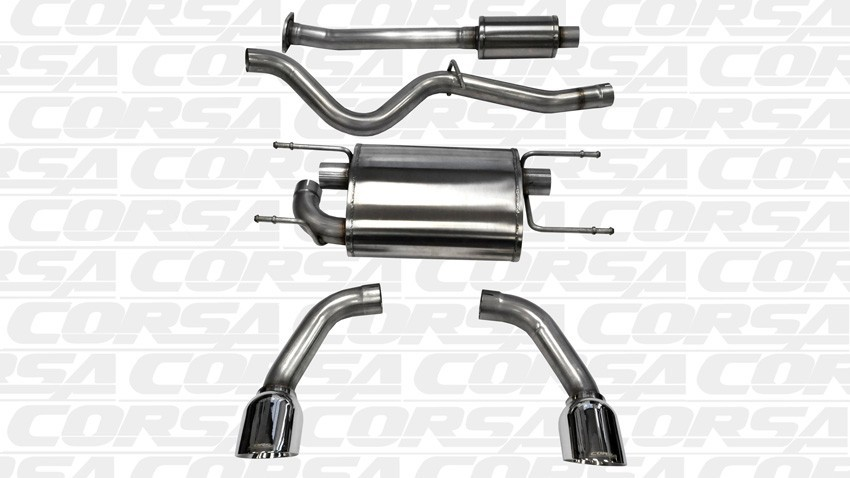 Corsa Cat Back Exhaust (Stainless)