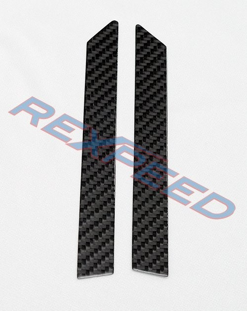Rexpeed Carbon Small Window Pillar Trim