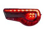 StickerFab Special Edition Dark Smoke Honeycomb Tail Light Overlays - 2017-2021 Toyota 86 / Subaru BRZ