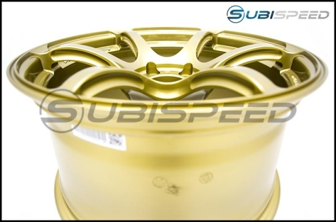 Advan RGIII 18x9.5 +45 Racing Gold Metallic - 2013+ FR-S / BRZ / 86 / 2014+ Forester