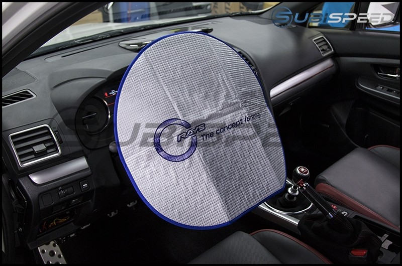 Rays Steering Wheel Sunshade