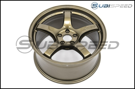 Rays Gram Lights 57CR Almite Gold 17x9 +38 - 2013+ FR-S / BRZ / 86 / 2014+ Forester