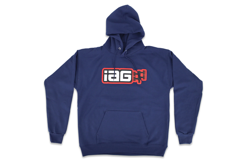 IAG Performance IAG Boxer Logo Hoodie - Navy