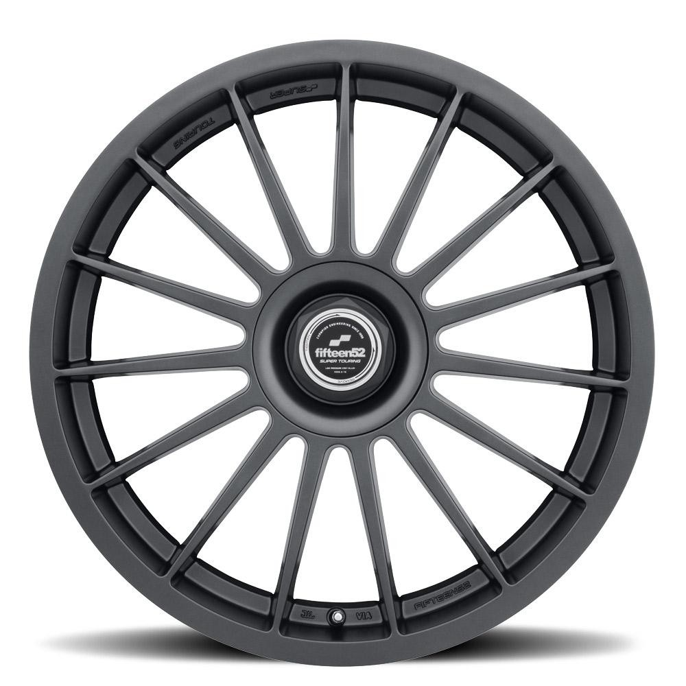 fifteen52 Podium 18x8.5 +45 Frosted Graphite - 2015+ WRX / STI / 2013+ FR-S / BRZ / 86 / 2014+ Forester