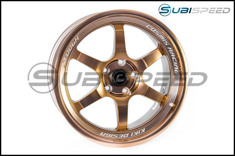 Cosmis Racing 18x9 XT-006R Hyper Bronze Wheel (30mm Offset) - 2015-2020 Subaru WRX & STI