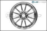 Cosmis Racing R1 18x9.5 +35mm Black Chrome - 2015+ WRX / 2015+ STI
