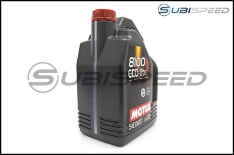 Motul 5L Jug Synthetic Engine Oil 8100 0W20 ECO-LITE - Universal
