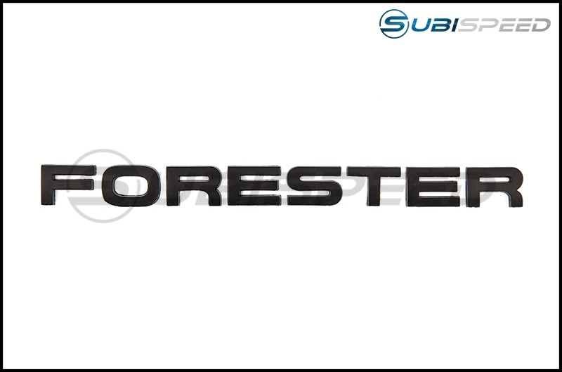GCS Forester Trunk Emblem