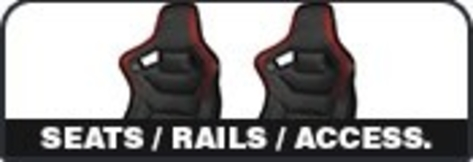Seats / Rails / Accessories