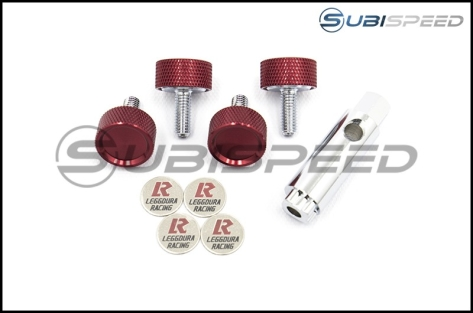 Project Kics Leggdura Racing 2pc License Plate Lock Bolts - Universal