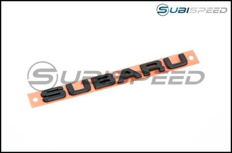 Subaru Hyperblue Series Black Subaru Trunk Emblem - Universal