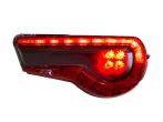 StickerFab Special Edition Dark Smoke Stealth Tail Light Overlays - 2017-2021 Toyota 86 / Subaru BRZ