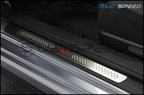 JDM Station TRD Style Door Sills