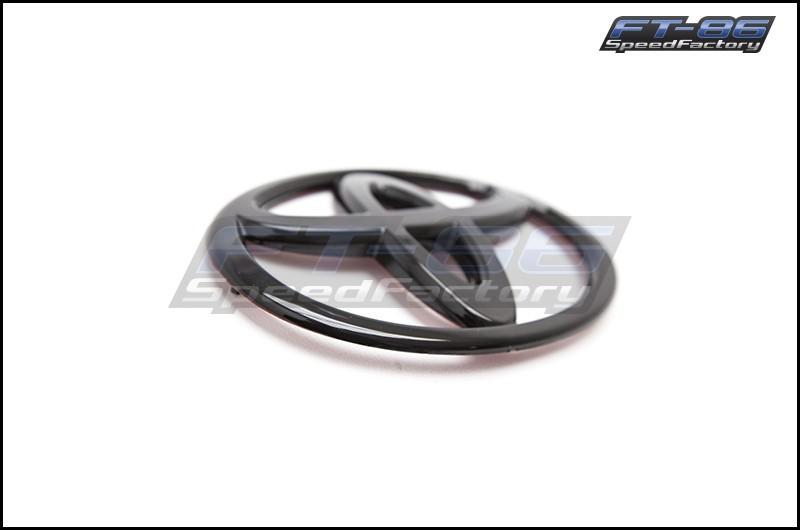 FRS / GT86 Gloss Black Toyota Emblem Front