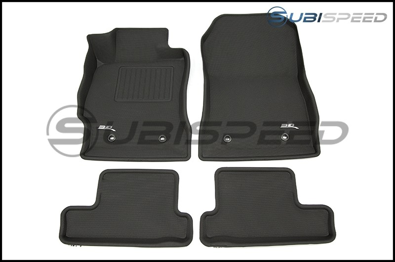 3D Maxpider Heavy Duty All Weather Floor Mats - 2013-2020 FR-S / BRZ / 86