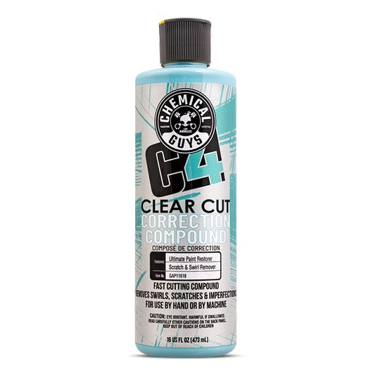 Chemical Guys C4 Clear Cut Correction Compound (16 Fl. Oz.)