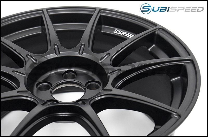 SSR GTX01 Flat Black 17x9.0 +38mm