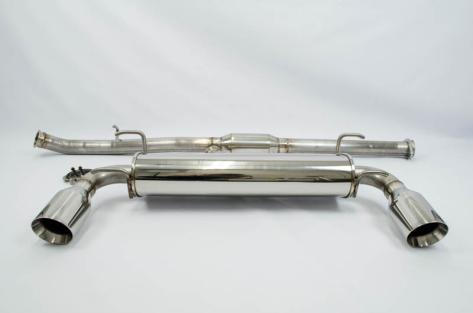 FT-86 SpeedFactory V1 Cat Back Exhaust (Resonated) - 2013+ BRZ