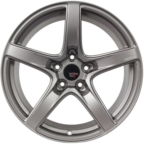 Option Lab R555 18x8.5 +40 Noble Grey - 2013+ FR-S / BRZ / 86 / 2014+ Forester