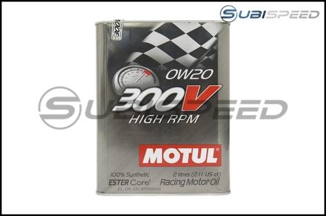 Motul 300V HIGH RPM 0W20 Racing Oil (2L) - Universal