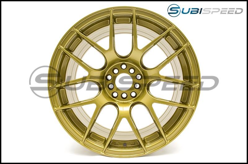 XXR 530 Wheels 18x8.75 +33mm (Gold) - 2015+ WRX / 2015+ STI / 2013+ FR-S / BRZ / 2014+ Forester