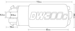 DeatschWerks DW300 Series Fuel Pump w/ Install Kit - 2015-2020 WRX / 2013+ FR-S / BRZ